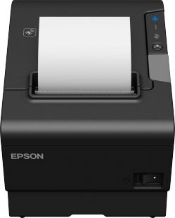 EPSON - TM-T88VI (111) - Impressora de recibos, USB, Ethernet, PS, Black, EU
