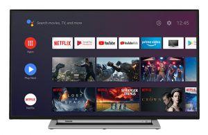 TOSHIBA - SMART TV ANDROID 65P UHD 4K WIFI USB HDMI GOOGLE ASSISTANT - 65UA3A63D
