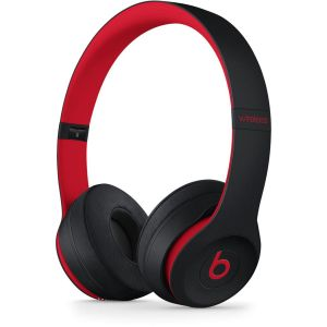 APPLE - Beats Solo3 Wireless On-Ear Headphones - The Beats Decade Collection - Defiant Black-Red