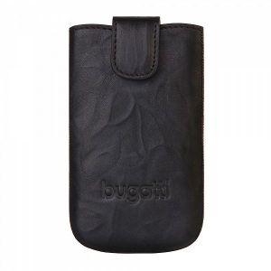 BUGATTI - SlimCase Leather Unique iPhone 5 (carbon)