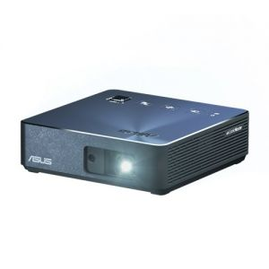 ASUS - S2 USB-C Portable LED Projector - 720P (1280x720): 500 lumens: Built-in 6000mAh bateria: Keystone Adjustment: Auto Focus: Wireless Projection - Navy