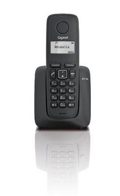 BP GIGASET - CORDLESS PHONES - DECT GIGASET A116 WRLS BLACK