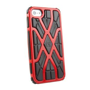 G-FORM - iPhone 5 red / black RPT