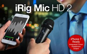 IK MULTIMEDIA - MICROFONE IRIG MIC HD 2