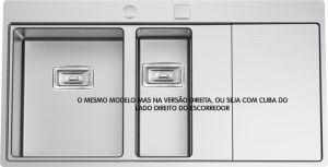 RODI - LAVA LOUÇA DIREITO ESCOVADO - XERON 100 - I08X2ML7F148A2