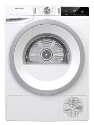 HISENSE - Máquina Secar Roupa DHGA90 Branco