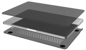 COMMA - Hard Jacket MacBook Pro 13 TB (Black)