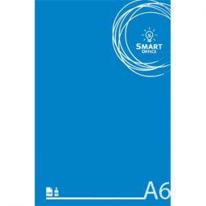 SMART OFFICE - Bloco Notas Smart Office A6 Quadriculado: 60gr: 100 Folhas (min. 10 un.)