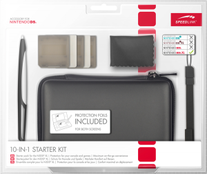SPEEDLINK - 10-IN-1 STARTER KIT - for N3DS XL: Black