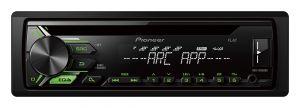PIONEER - AUTO RADIO RDS ENTRADA CD USB FRONTAL ILUMIN. VERDE