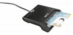 Trust DNIe interior USB 2.0 Preto leitor de smart card