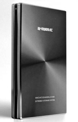 B-MOVE - CAIXA HD 2.5P. ATÉ 1 TB. USB 2.0. ALUMINIO. PRETO (BM-HDB01T)