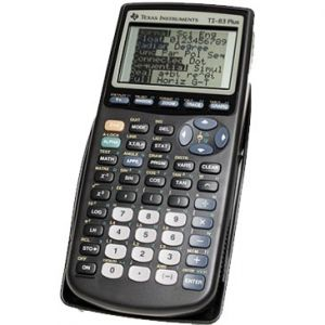 TEXAS - Calculadora Grafica Texas TI 83 Plus
