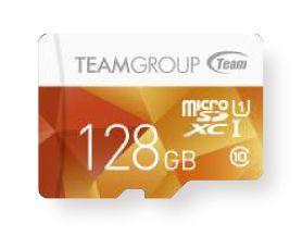 TEAMGROUP - Flash card Micro-SD128GB ColorUI 1A