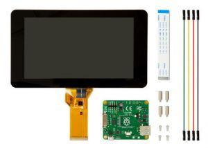 Raspberry - Ecrã tátil LCD 7P para Raspberry Pi