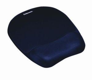 FELLOWES - Memory Foam Tapete de rato com suporte para pulso Saphire