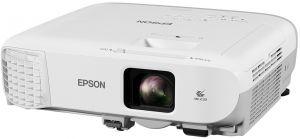 EPSON - EB-980W - 3 projetores LCD - 3800 lumens (branco) - 3800 lumens (cor) - WXGA (1280 x 800) - 16:10 - HD 720p - LAN