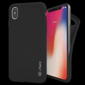 I-PAINT - SAND CASE IPHONE X (BLACK)
