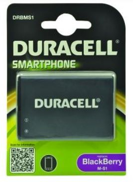 DURACELL - Replacement BlackBerry M-S1 smartphone battery
