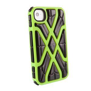 G-FORM - iPhone X - Green Shell / Black RPT - CP1IP4007E