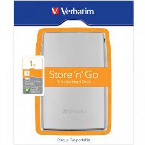 VERBATIM - STORE N GO USB 3.0 2.5 Pol 1TB - PRATA