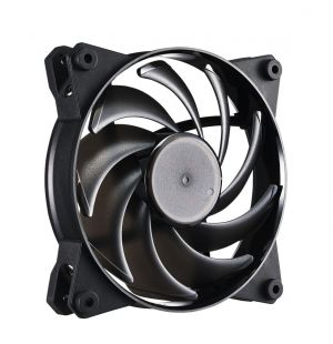 COOLER MASTER - MasterFan Pro 120 Air Balance 120mm case fan ideal for blowing air through denser. Recommended for CPU air coolers or front panel.