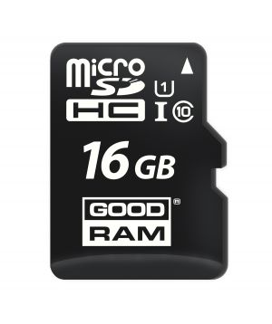 GOODRAM - MEMORIA MICROSD 16 GB MICRO CARD CL 10 UHS I