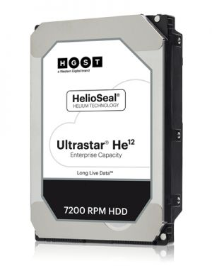 HGST - ULTRASTAR HE12 12TB SATA 512E T ISE HUH721212ALE600
