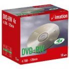 IMATION - DVD-RW 4x 4.7Gb 120M Pack 10