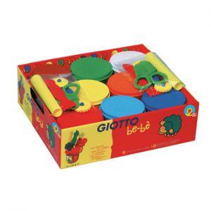 GIOTTO - Pasta Modelar Giotto Be-Be 220grx8un+Acessorios