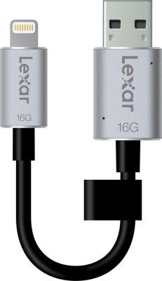 LEXAR - USB 3.0 C20i 16GB - cabosync+armazenamento-iphone