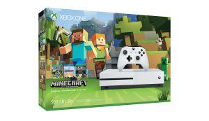 MICROSOFT - Xbox One S 500GB + Minecraft