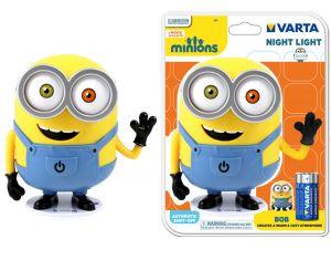 VARTA - MINIONS NIGHT LIGHT 3AA LED MULTICôr LUZ NOCTURNA para BEBéS - 15615