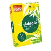 ADAGIO - Papel Fotocopia Adagio A4 80gr Amarelo Intenso 1x500Fls
