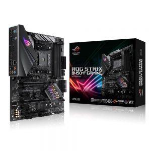 ASUS - Motherboard ROG STRIX B450-F Gaming / AM4 / 4X DDR4 / HDMI / DisplayPort / ATX