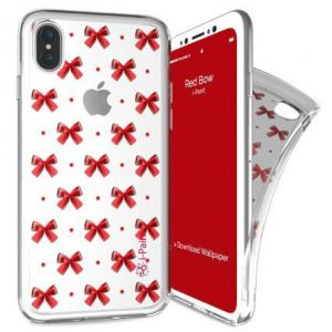 I-PAINT - TRENDY CASE IPHONE X (RED BOW)