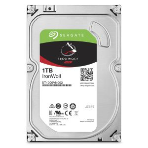 SEAGATE - HD 1TB IronWolf 3.5 Sata 6Gb/s