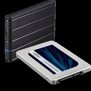 CRUCIAL - MX300 275GB 2.5 SSD + Cx Tooq TQE-2530B