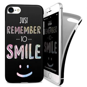 I-PAINT - Soft Case iPhone 7 (smile)