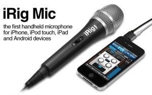 IK MULTIMEDIA - Microfone iRig Mic