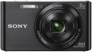 SONY - KIT W830 PRETA (20.1 MP / ZOOM 8X ) + BOLSA + SD 8GB