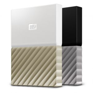 WD - HDD EXT My Pass Ultra 2TB White Gold