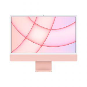 APPLE - iMac 24P Retina 4.5K / Apple M1 com 8?core CPU e 7?core GPU / 256GB - Rosa