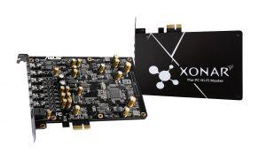 ASUS - PLACA DE SOM XONAR AE 7.1 PCIE GAMING - XONAR AE