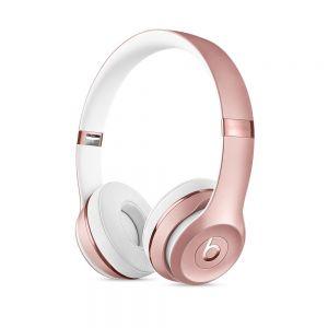 APPLE - Beats Solo3 Wireless On-Ear Headphones - Rose Gold