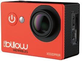 BILLOW - ACTION CAM 4K INTERPOLADA WIFI 170º C/ ACESSÓRIOS RED - XS550PROR