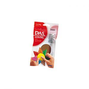 DAS - Pasta de modelar DAS Color Castanho 150gr