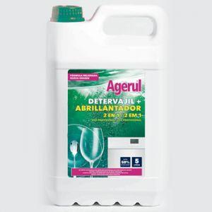 AGERUL - Detergente+Abrilhantador p/ Loica Maquina 2 em 1 5Lts
