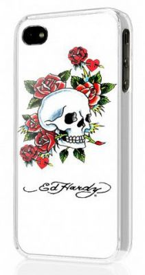 ED HARDY - Hard Shell Faceplace iPhone 4 Skull ros