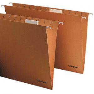 OFFICE - Capa Suspender Folio com Visor Superior Kraft (96390) (min. 50 un.)